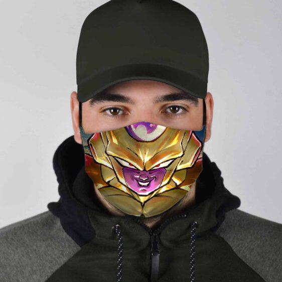 Dragon Ball Z Powerful Badass Gold Frieza Face Mask