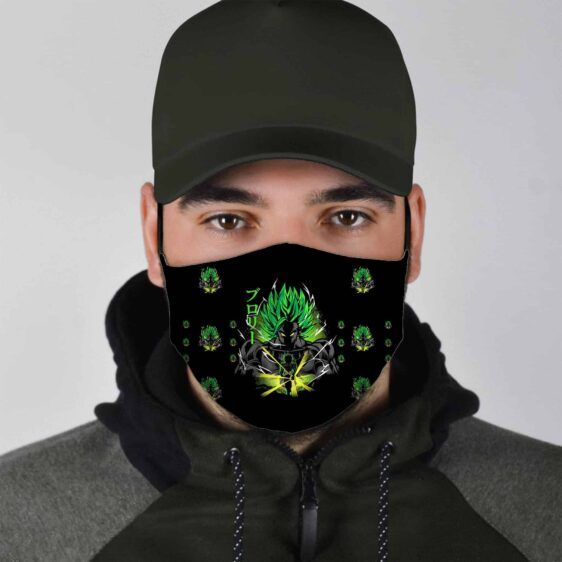 Dragon Ball Z The Powerful Broly Face Mask