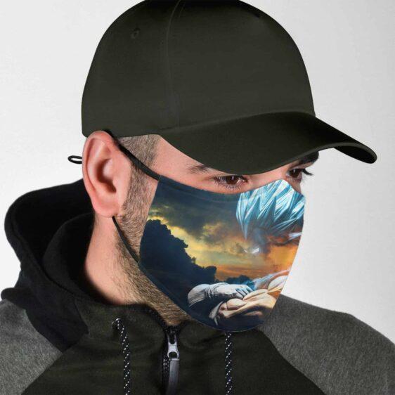 Dragon Ball Z The Amazing Saiyan Prince Vegeta Face Mask