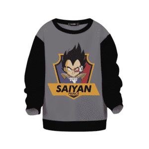 Dragon Ball Z Vegeta The Saiyan Prince Kids Sweatshirt