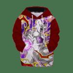 Dragon Ball Z White Frieza Comic Style Kids Hoodie
