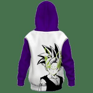 Dragon Ball Z Young Gohan Cell Saga Awesome Kids Hoodie Back
