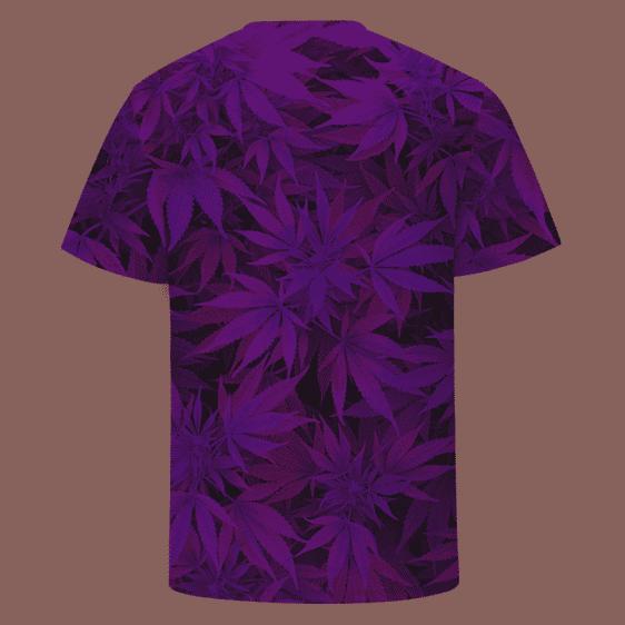 Girls Do Weed Naked Girl Smoking a Joint 420 Marijuana T-Shirt