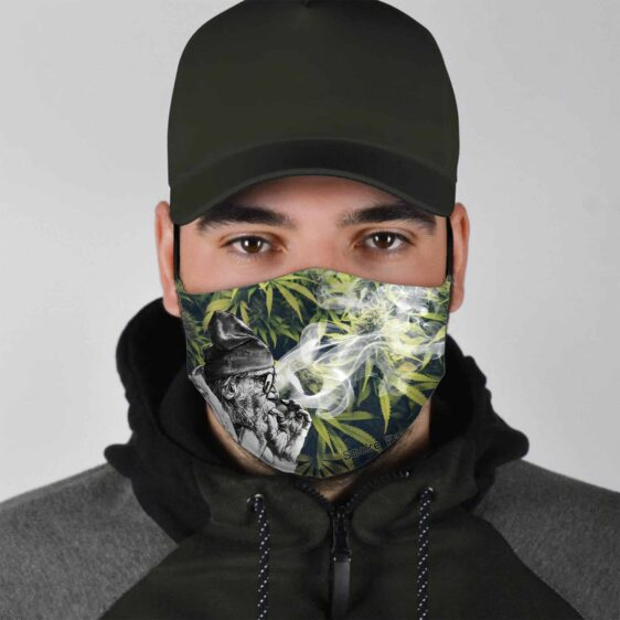Grandpa Can Smoke Weed Everyday Marijuana Face Mask