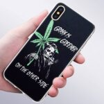 Grass Is Greener On The Other Side Grim Reaper IPhone 11 (Pro & Pro Max) Cases