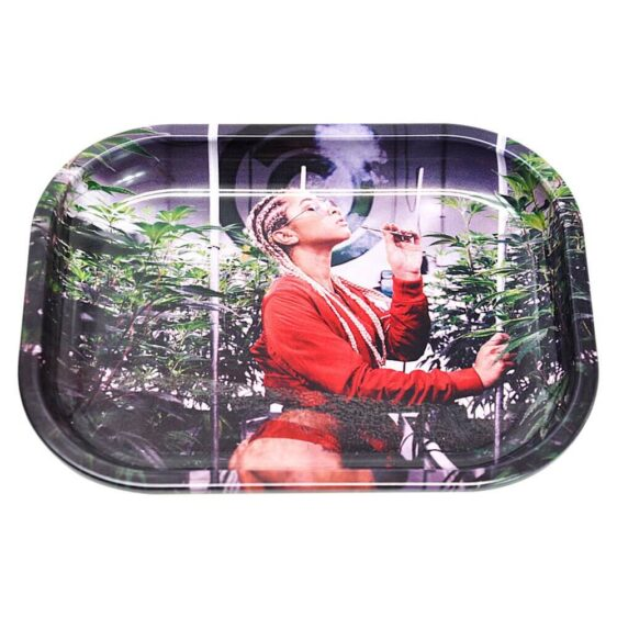 Grow Your Own Sexy Weed And Smoke it Cannabis Rolling Tray