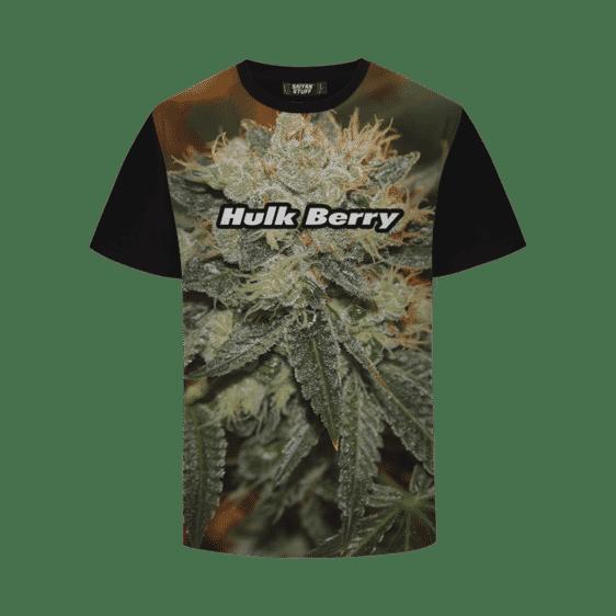 Hulk Berry Strain Cool Real Strain Close Up Portrait T-Shirt
