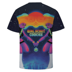 Hybrid Sativa Indica Girl Scout Cookies Strain 420 T-shirt