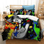 Iron Man Franky Straw Hat Shipwright Vibrant Bedding Set
