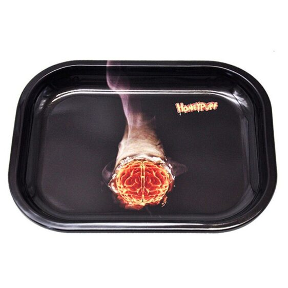 It's Always Smoke Time Somewhere Cannabis Rolling Tray