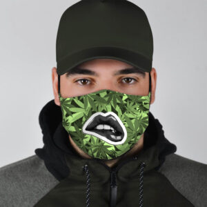 Lip Bite Cannabis Makes You Feel Marijuana Face Mask