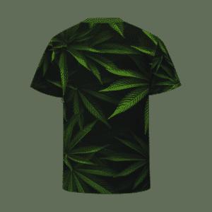 Marijuana Fields One Hundred Percent Natural T-shirt