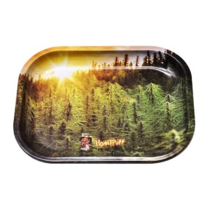 Marijuana Forest Windy and High Blunt Rolling Tray