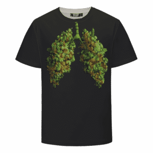 Marijuana Hemp Weed Cool Lungs 420 Awesome T-shirt