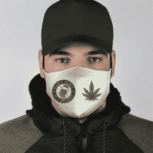 Marijuana Weed Dont Panic Its Organic Cool Face Mask