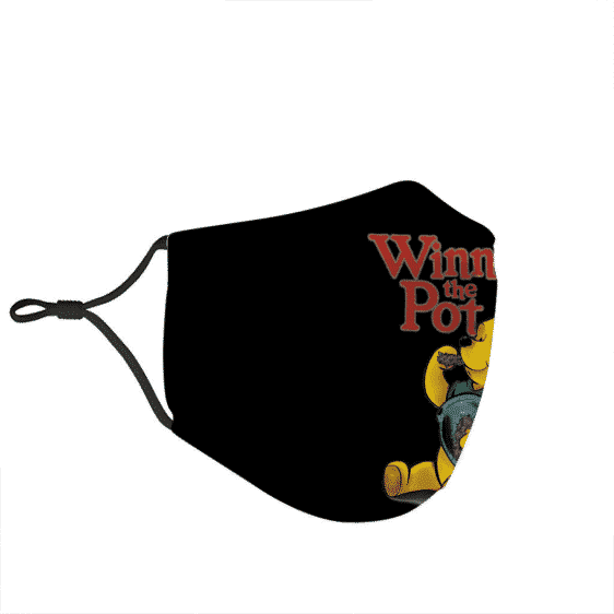 Marijuana Weed Winnie the Pooh Pot Simple Dope Awesome Face Mask