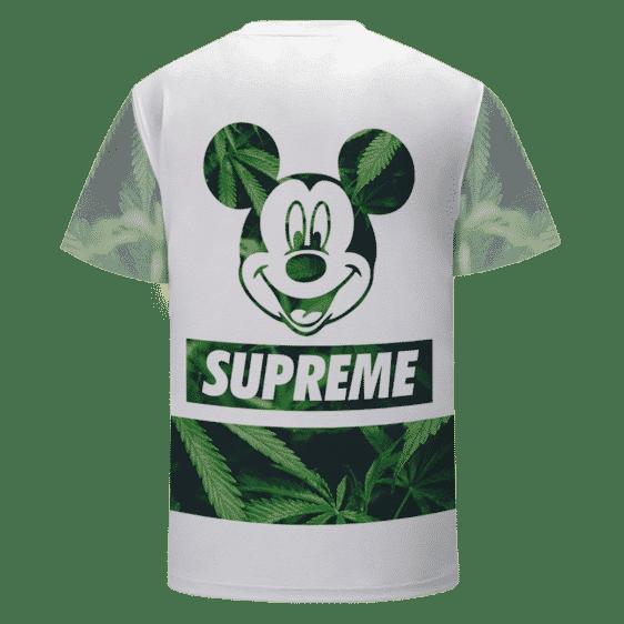 Mickey Mouse Supreme Marijuana Hemp Weed 420 T-Shirt