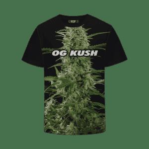 OG Kush Strain Cool Real Strain Close Up Portrait T-Shirt