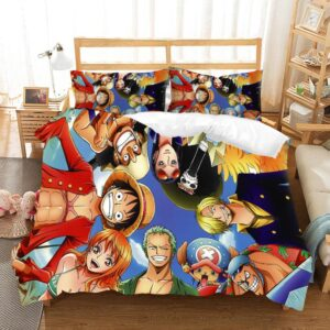 One Piece Straw Hat Pirate Crews Euphoric Aura Bedding Set