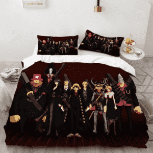 One Piece Strong World Straw Hats Epic Wardrobe Bedding Set