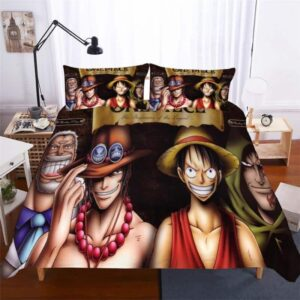 One Piece The Beginning Of The Legend Dope Bedding Set