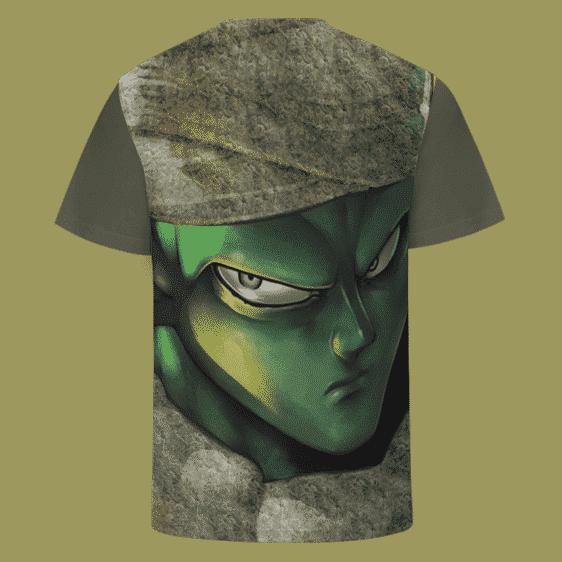 Piccolo Covered in Marijuana Dark Green 420 Kush T-shirt