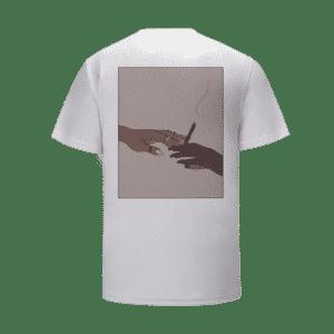 Puff Pass Sisters Marijuana Blunt Illustration T-Shirt