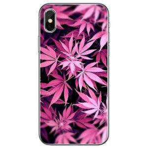 Purple Sativa Cannabis Themed Iphone 11 (Pro & Pro Max) Cases