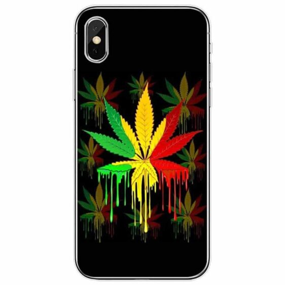 Red Gold & Green Rasta Flag Cannabis IPhone 11 (Pro & Pro Max) Cases