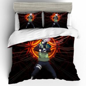 Sixth Hokage Kakashi Hatake Fighting Stance Bedding Set