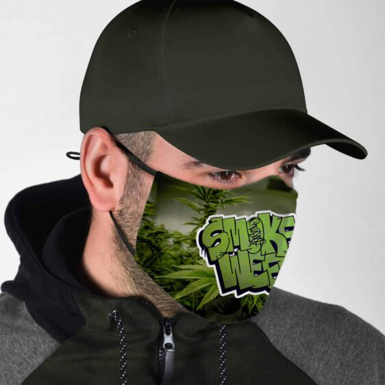 Smoke Weed Grow Weed Everyday Marijuana Face Mask