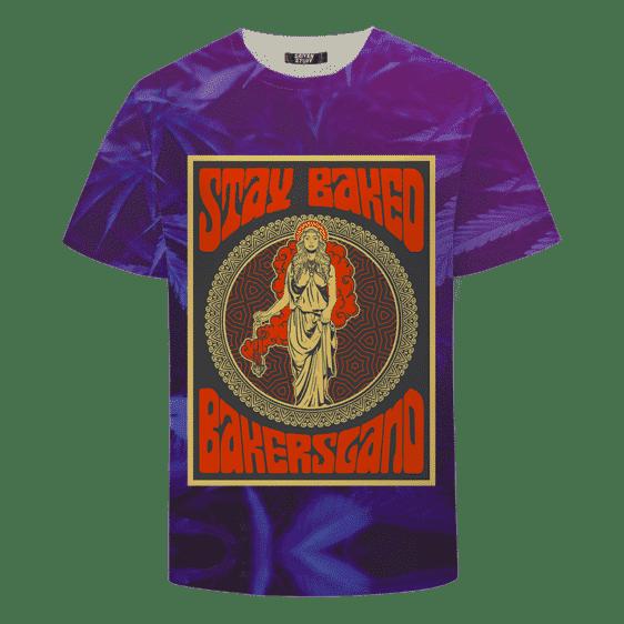 tay Baked Bakersland Weed 420 Marijuana T-shirt