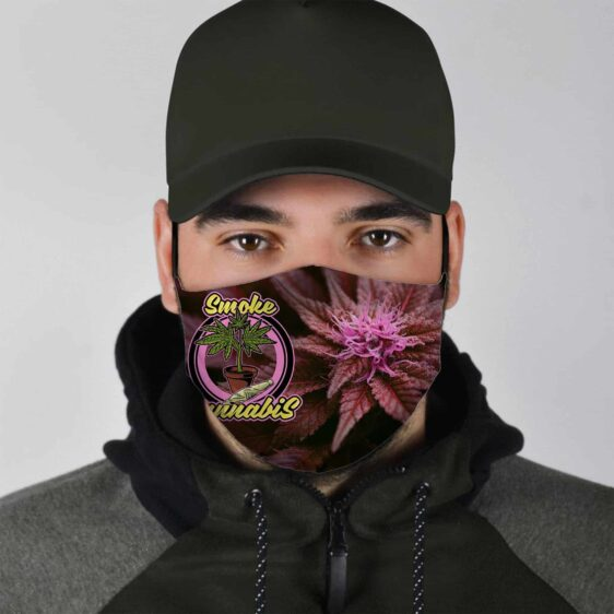 Strain Hunters Smoke Rare Cannabis Marijuana Face Mask