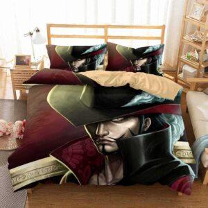 Strongest Swordsman In The World Dracule Mihawk Bedding Set