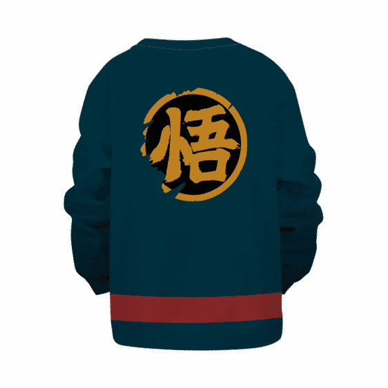 Super Dragon Ball Heroes Goku God Officer Cosplay Kids Sweater