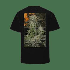 Black Top Shelf Kush Cannabis Marijuana Jar T-Shirt