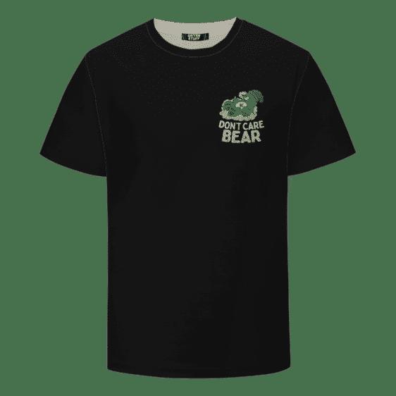 We Don't Care Bear Parody High on Marijuana 420 T-shirt