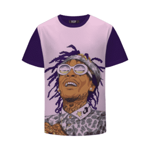 Whiz Khalifa High Times Cool Pink Marijuana T-Shirt