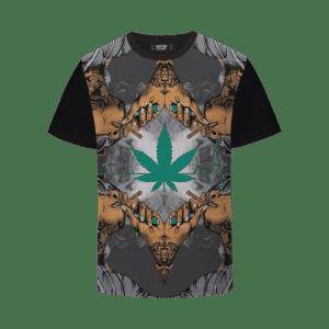 Whiz Khalifa Smoke Out Cannabis Heartbeat Dope T-shirt