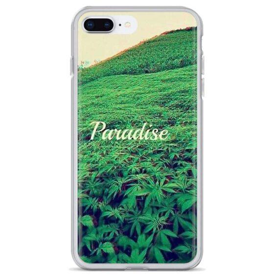 420 Paradise & Full Marijuana Field iPhone 12 Cover