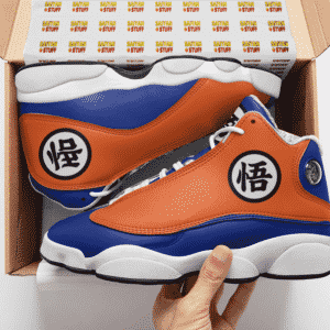 Dragon Ball Z The Turtle School Uniform Goku Basketball Sneakers