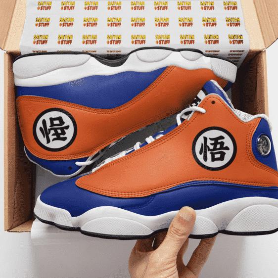 Dragon Ball Z The Turtle School Uniform Goku Basketball Sneakers