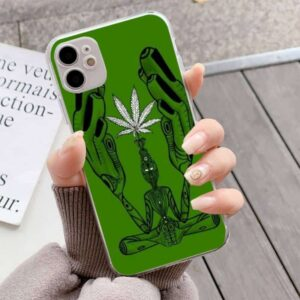 Abstract Art Of Weed iPhone 12 (Mini, Pro & Pro Max) Cover
