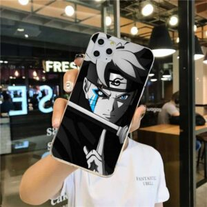 Adult Boruto Monochromic iPhone 12 (Mini, Pro & Pro Max) Case