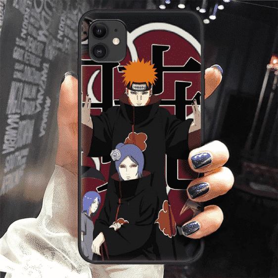 Akatsuki Members Nagato And Konan Team iPhone 12 Cover