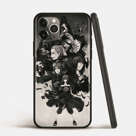Akatsuki Members iPhone 12 (Mini, Pro & Pro Max) Cover