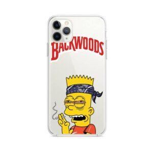 Backwoods Bandana Bart High On Marijuana iPhone 12 Case