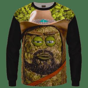 Billy Ray Cyrus Funny Nug Weed Cute Crewneck Sweater