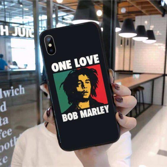 Bob Marley One Love iPhone 12 (Mini, Pro & Pro Max) Case