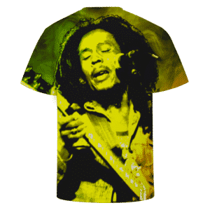 Bob Marley Singing Reggae Stoner Legend Awesome T-shirt